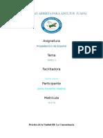 Practica III Propedeutico Espanol