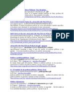 LINK´s bibliografia de EL Análisis de las Políticas Públicas
