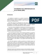 M1 Lectura 1 - Generalidades de La Administración de Relaciones Con El Cliente