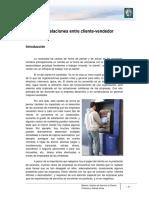 M1 Lectura 2 - Relaciones Entre Cliente-Vendedor