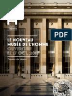 2015 Dp Ouverture Musee de Lhomme Fr