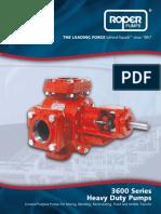 3600 Series Pump