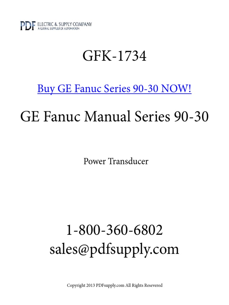 Gfk 1734 Ac Power Root Mean Square Ct Shorting Block Wiring Diagram