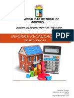 Informe Impuesto Predial Pimentel
