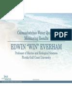 "Edwin ""Win"" Everham - Caloosahatchee Water Quality Monitoring Results"