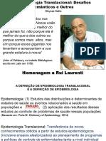Moyses Szklo Epidemiologia Translacional