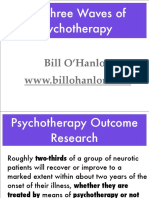 Three Waves of Psychotherapy