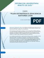 Actividad 8.Análisis de Caso y Foro Sobre Planeación Estrategica.