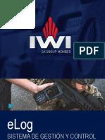 IWI ELog - SISTEMA DE GESTIÓN Y CONTROL   DE ARMAS LIVIANAS