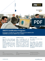 ANSYS Certification Program