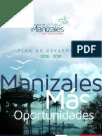 PLAN DE GOBIERNO MANIZALES 2016 - 2019