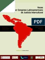 Voces del Primer Congreso de Justicia Intercultural