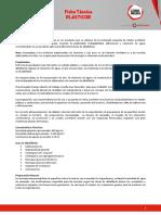 Ficha Técnica - Plasticor
