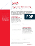 AvayaAuraConferencing Fact Sheet