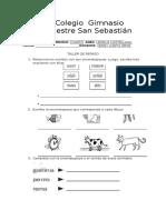 taller de repaso Lengua Castellana