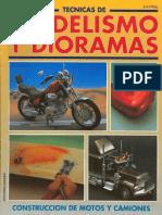 Técnicas de Modelismo y Dioramas-(27)[Construccion de Motos y Camiones]