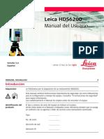 Leica HDS6200 UserManual Es