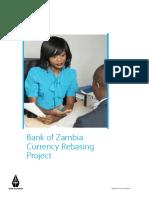 Zambia Kwacha Currency Rebasing Brochure Barclays