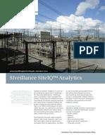 Flyer Siveillance SiteIQ Analytics