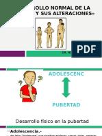 Pubertad Normal y Alteraciones Agosto 2016