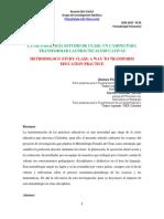 Articulo Metodologia Estudio de Clase Un Camino Para Transformar Las Prácticas Educativas