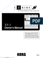 Korg ES1 Manual