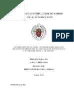 LA DIMENSIÓN SOCIAL DE LA UNIVERSIDAD DEL SIGLO XXI CREACIÓN DEL PROGRAMA DE APRENDIAZAJE-SERVICIO EN LA UNIVERSIDAD TÉCNICA DE AMBATO