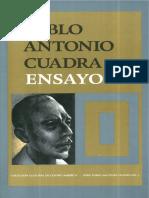CCBA - SERIE PABLO ANTONIO CUADRA - 03 - Ensayos I.pdf