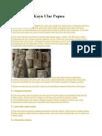 Manfaat Kayu Ular Papua 1.docx