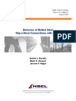 4.Borello Et Al. -- Behavior of Bolted Steel Slip-critical Connections With Fillers
