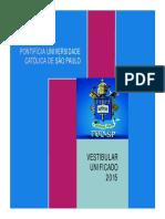 Vestibular Puc-sp 2015
