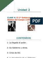 CLASE 4 CHILE 1952-1958