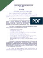 CapituloIV Ley28927 Implementacion Del P Por R