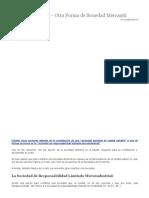 La Microindustria – Otra Forma de Sociedad Mercantil – Blog Legal de Jorge Mafud