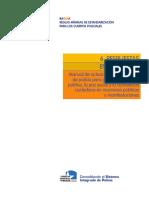 Manual de Actuación de Los Cuerpos de Policía Para Garantizar El Orden Público La Paz Social y La Convivencia Ciudadana en Reuniones Públicas y Manifestaciones