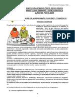 SEPARATA UNIDAD II Procesos Cognitivos