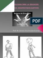 2 Metodología Para La Educación de Niños Discapacitados Auditivos