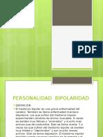 Dipocitivas de Personalidad Bipolaridad