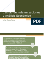 12. Cálculo de Indemnizaciones y Análisis Económico