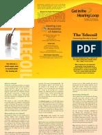 hlaa telecoil brochure telecoil 0