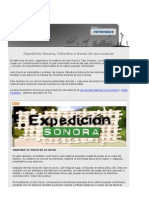 Expedición Sonora