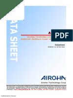 Power Amplifier(3G4G)AP7219M Data Sheet_V1.0