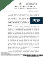 doc-16111 PJN Confirmación de Condena de Omar M Gauna por facilitar la Prostitución (Trata de Personas)