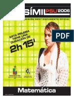 2007 Demre 05 Facsimil Matematica