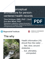 A Novel Conceptual Architecture for Person-Centered Health Records