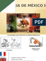 Historia de México II Bloque II