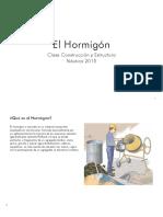 Clase 2 Construcción 1 Náutica 2015 Hormigón