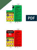 Placas de Controle de Acesso