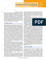 Biological and Clinical Rationale for Vital Pulp Therapy
