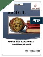 Modul Administrasi Kepegawaian XII